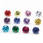 loose synthetic machine cut cz stone cubic zirconia color chart