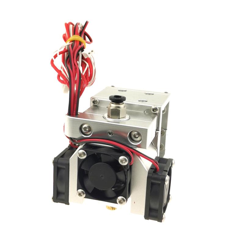 GIULY כל מתכת BLV mgn קוביית Hotend BMG מכבש עם E3D V6 עבור 3D מדפסת