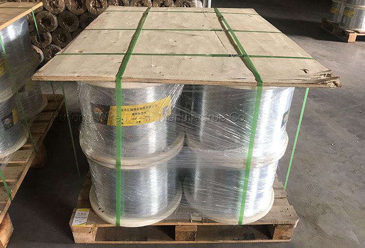 Mask Nase Draht 0.45mm 0.5mm soft galvanized wire Spooling 25kg and 100kg