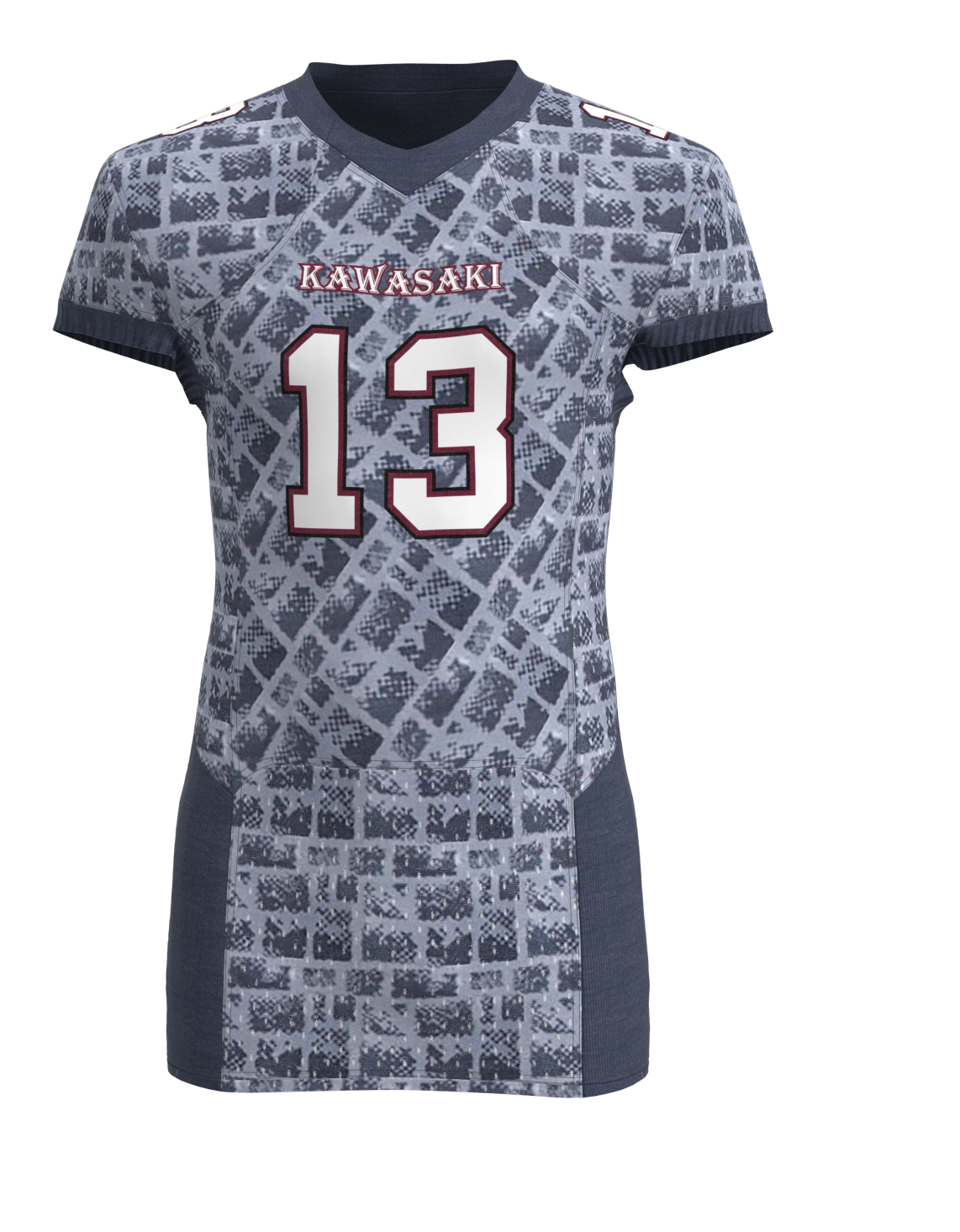 Grey fashion  digital sublimation cheap american football set custom
