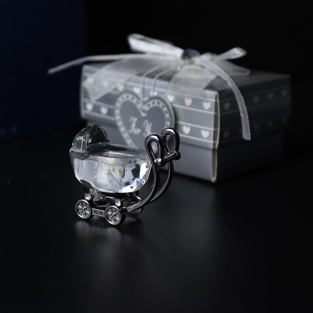 Wedding souvenirs guests crystal keepsake heart gift glass roses