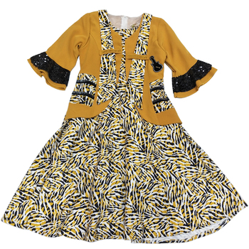 Libya Algeria Mawlid Muslim Kid Girl Summer Dress,Manufacturer Wholesale Girls Clothing Sets Dress Kids
