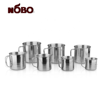 Metal arabic quality stainless steel tea cup with cover