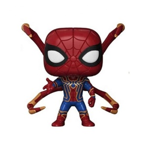 FUNKO POP Spider Man 2019 kids toys Hero Animation Collection Model Toys PVC Action Figure Toys For Children Gift