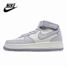 Nike Air Force 1 Новое поступление мужская обувь для скейтбординга противоскользящая воздушная подушка оригинальные уличные спортивные кроссовк...()