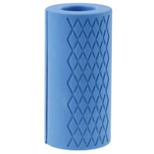 Грипсы для гантелей Толстая рукоятка для тяжелой атлетики силиконовая противоскользящая защитная накладка для бодибилдинга(China)