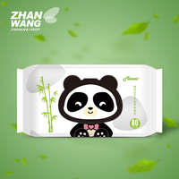 Global Agents 100% Eco-Friendly Biodegradable Disposable Organic Bamboo Baby Brands Wet Wipes