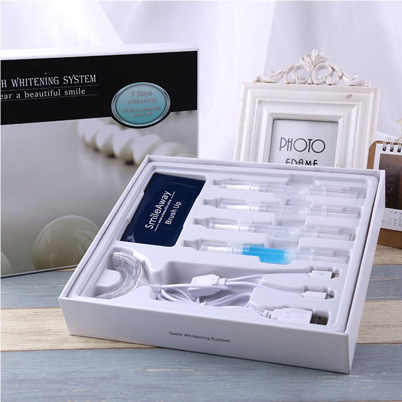 Non Peroxide Nano Dental Private Label Teeth Whitening Gel / Home Teeth Whitening Kit