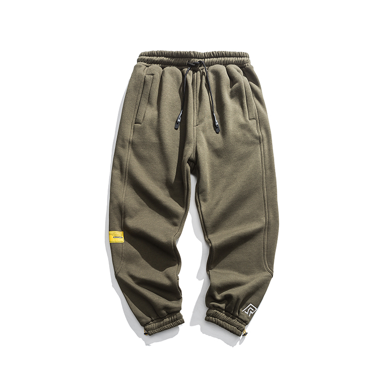 Nieuwe high fashion streetwear mannen jogger broek tapered