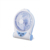 portable rechargeable desk fan with light