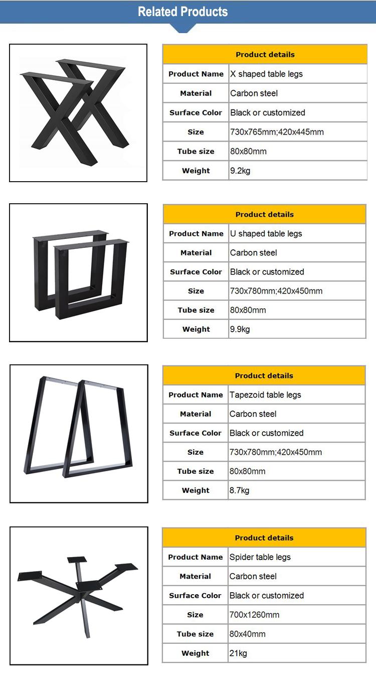Personalizzato Bar Tubolare di Metallo Tavolo di Supporto Telaio
