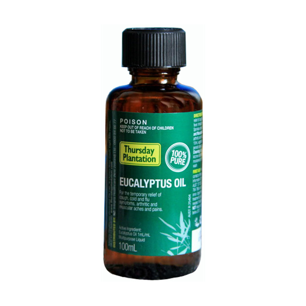 Therapeutic Grade 100% Natural Eucalyptus essential oil