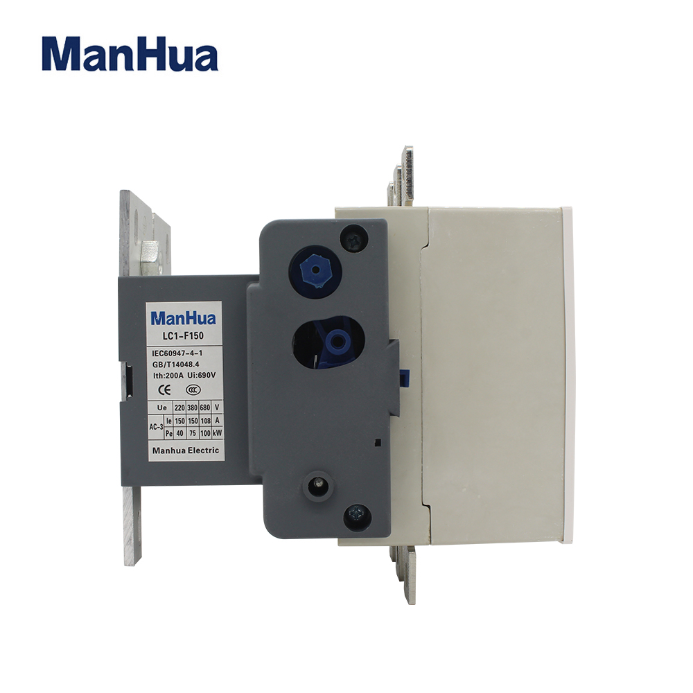 Manhua LC1-F150 380V 660V 1000V coil 150 Amp 3 Phase ac contactor Ac Magnetic Contactor