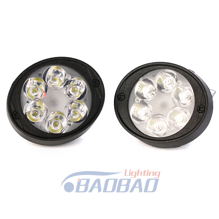 BB017 4LED 6LED 9LED Motorcycle Mirror lamp white color 12V led headlight from  BAOBAO LIGHTING