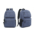2017 Custom School Bags Trendy Laptop Backpack With USB Port
