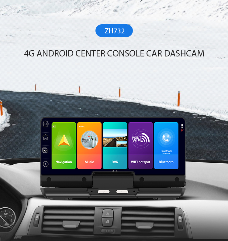 Hawkeye 7 inch IPS Capacitive screen 1280*480 pixels 32GB Car GPS Navigation Blue tooth WIFI FM  Touch Screen Driving Recorder