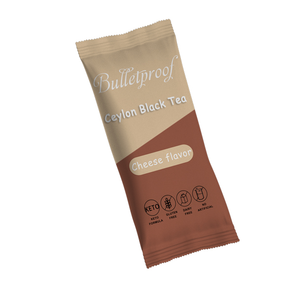 Lifeworth cheese flavor keto mct ceylon black tea powder - 4uTea   4uTea.com