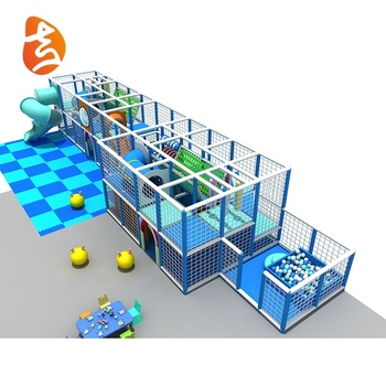 Promotion ocean style commercial attractive plastic soft indoor playground