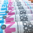 Boomwow wholesale party supply blue pink paper confetti gender reveal confetti popper confetti cannon for baby shower party
