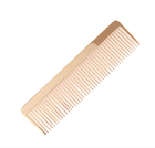 2019 HOT sale MIni Customized logo Gold Plated Mini Pocket Comb hair brush