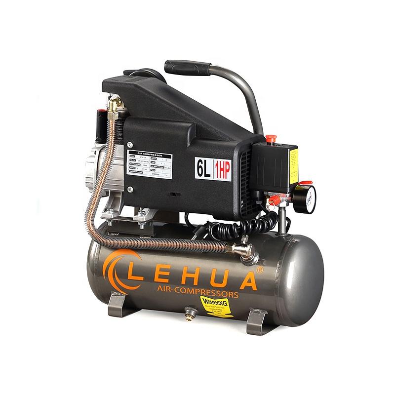 ZA-0.12/8 1hp electric portable air compressor single phase motor piston air compressor