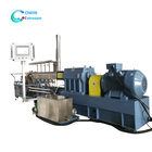 High quality twin screw extruder puffed food snacks machine for making puff rice