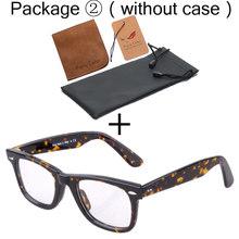 Очки, оптические очки, оправа для мужчин, wo, Мужская ацетатная оправа, очки, декоративные, близорукость, прозрачные линзы, очки, оптические, п...(Китай)