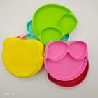 An Infant's Meal Tray With Suction Cup And Silica Gel Meal Pad Is An Integrated Tableware For Children