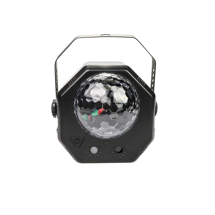 Hot Grosir RGB LED Liburan Lampu Remote 16 Pola Laser LED Magic Ball Light Efek Lampu Disko untuk Pesta Rumah bar Karaoke