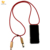 For iPhone Micro USB Cable Custom Clear Lanyard Necklace Phone Case