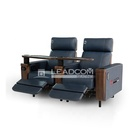 LEADCOM luxury leather electric cinema reclining sofa (LS-813B)