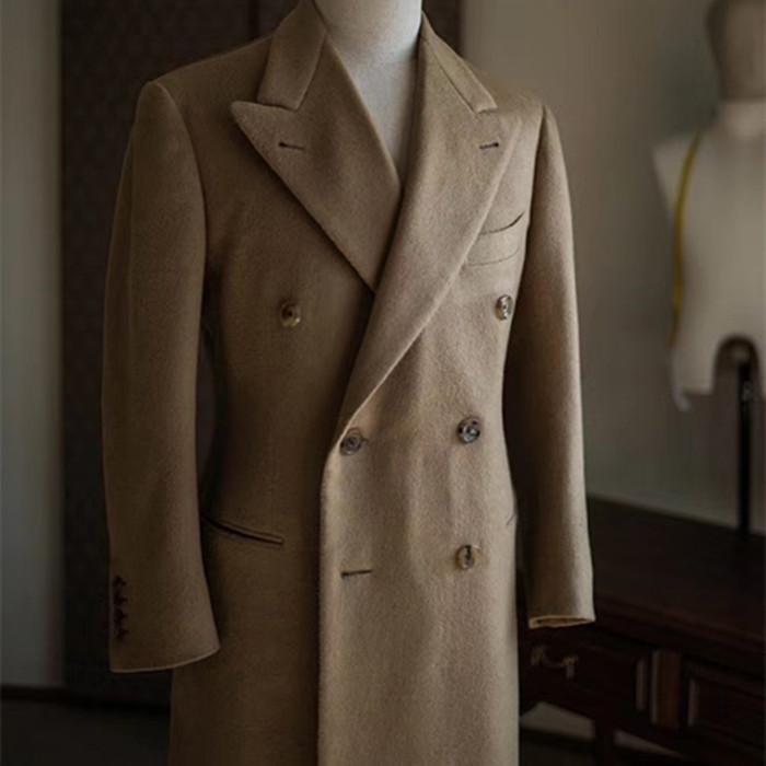 Özelleştirilmiş tasarım MTM erimiş tuval erkekler ceket tam yarısı en iyi fiyat hızlı teslimat
