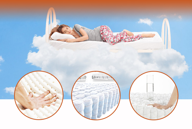 Tight Top pocket coil compress mattress