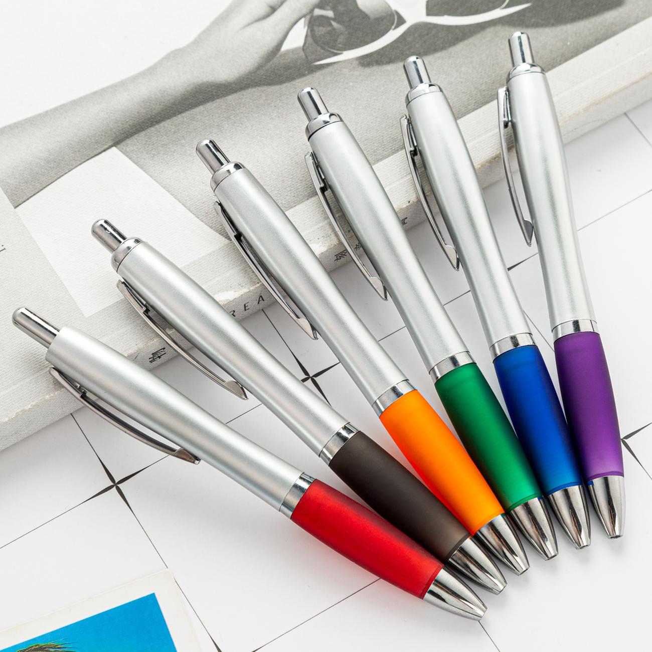 Cheap custom logo printed ballpen ballpoint pen plastic promotional gift pen