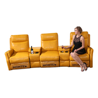 Valencia Used Commercial Seats Seating Three 7 Set 6 5 Leather 4 3 Sofa 2 Seater Movie Reclining Cinema Home Theater Bed Seat