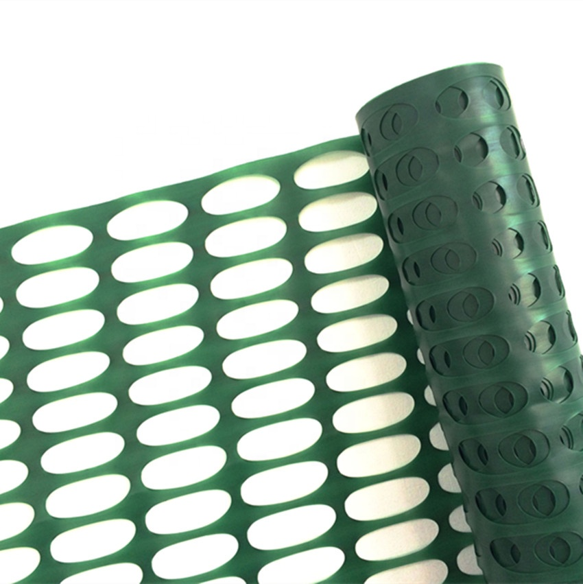Manufacturer HDPE with UV protection plastic road safety netting