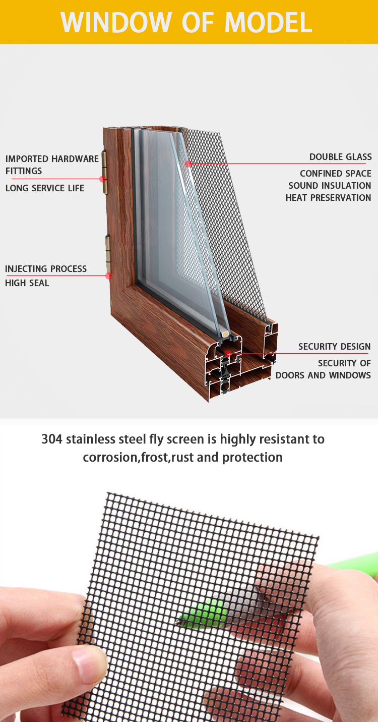Double glazed insulated windows prices louver vertical fixed aluminum jalousie windows