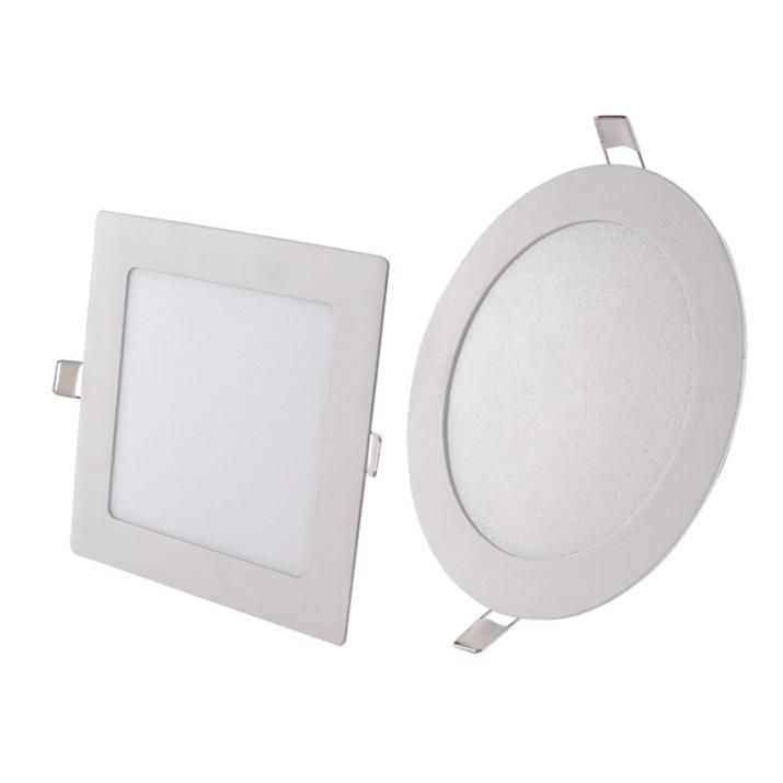 고품질 무테 백라이트 LED 패널 빛 10W 18W 24W 36W 라운드 LED 천장 조명 AC 85-265V