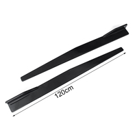 2019 new design arrivals 120CM Car accessories ABS Universal side skirts