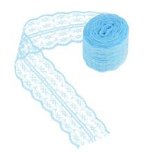 10 м/рулон 4,5 см кружевная лента, двусторонние Ручные украшения, вышитая сетчатая кружевная отделка, тканевая лента, аксессуары для шитья юбо...(Китай)