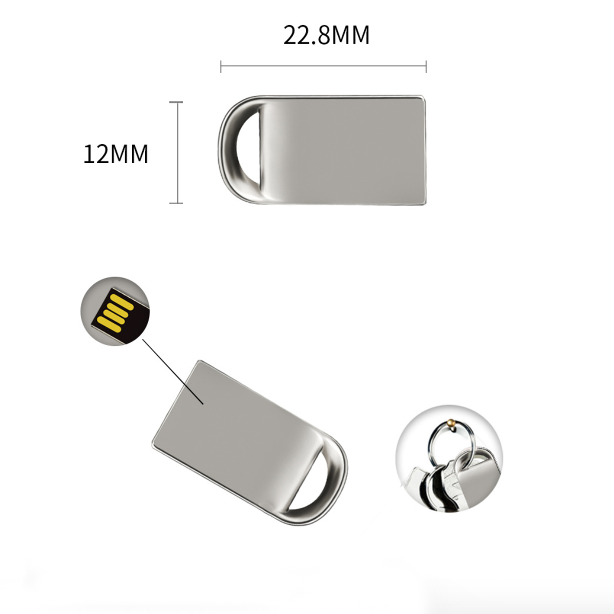 2019 Promotional 1GB 4GB 8GB 16GB 32GB 64GB Usb Flash Drive Bulk Cheap