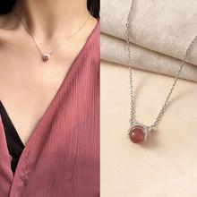 Kpop модное кристаллов, подвеской ожерелье виде Женская золотого цвета, милые массивные модные ожерелья 2020, корейские ювелирные изделия для д...(Китай)