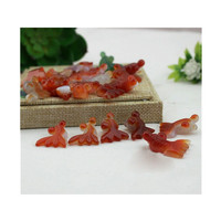 Hot selling Natural quartz folk crafts agate goldfish healing crystals stone for gifts