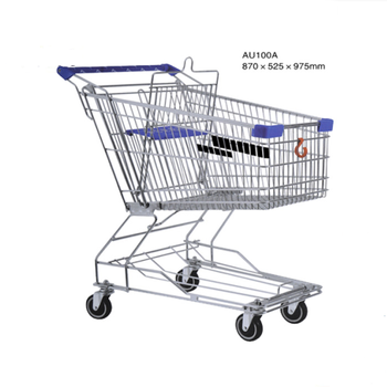 100L Shopping cart and shopping trolley for Australia  Style