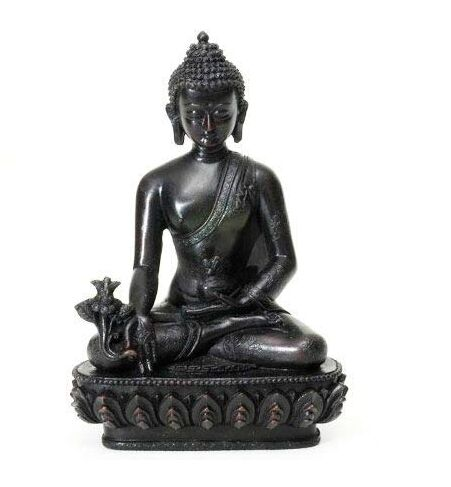 "Song of India Resin Medicine Buddha 5.5"" H"