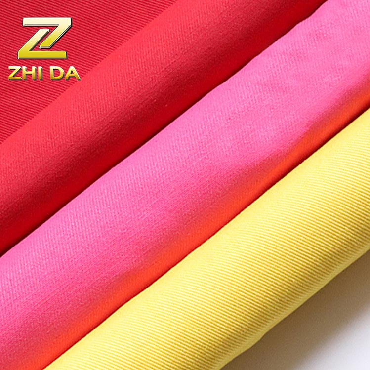 Wholesale price twill dyed multi customized color cotton canvas fabrics for bags