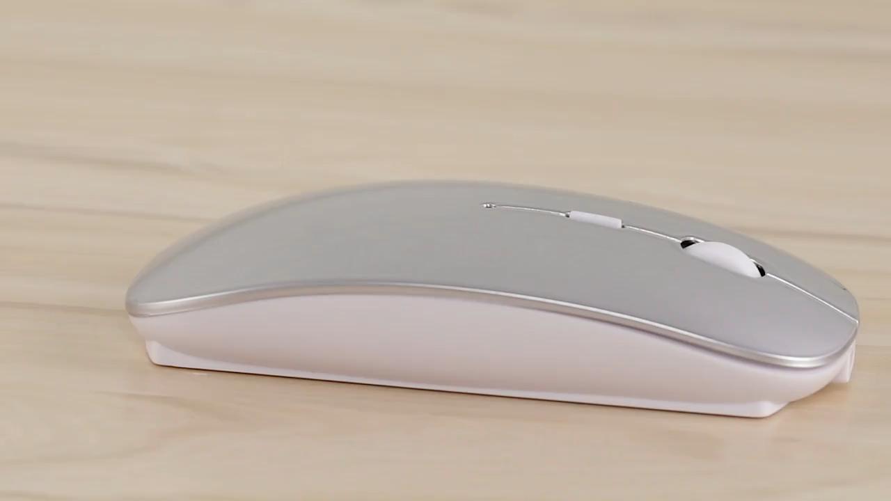 Bubm 2020 recargable slim 4d 5.0 imac用光学式ワイヤレスラップトップマウスマウス