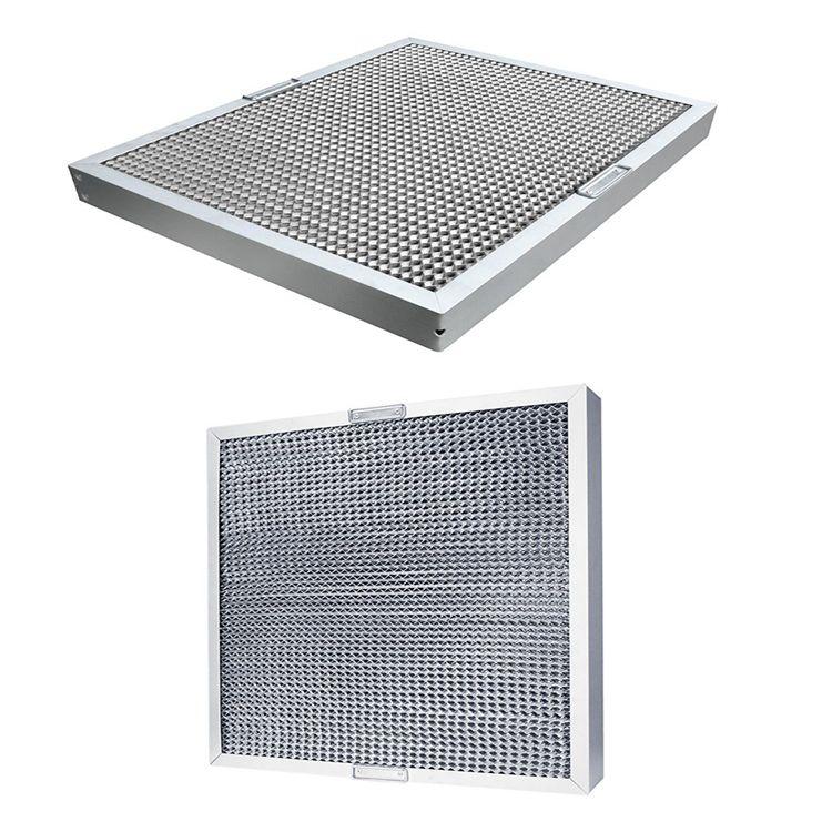 Hot sale 2019 kitchen aluminum/stainless steel range hood filter
