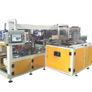 Carbonated Soft Drink Used Wrap Around Case Packing Machine For Beverage Industry