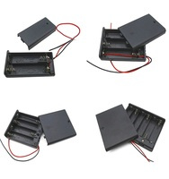 Battery case with wire C D AA AAA battery holder